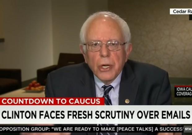 Bernie emails serious