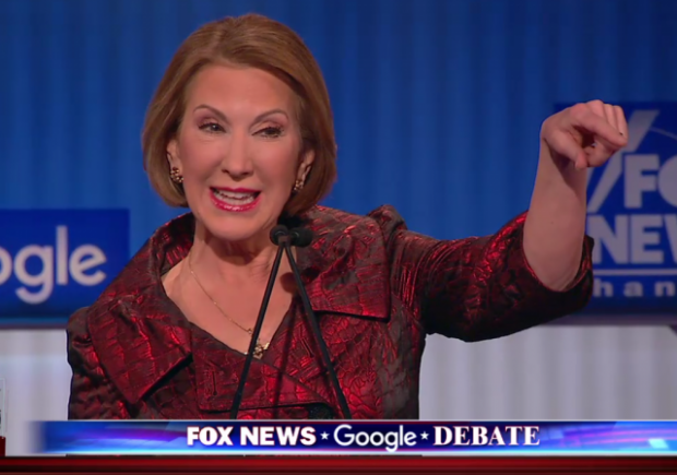 Carly Fiorina Undercard Debate Fox News 1-28-2016