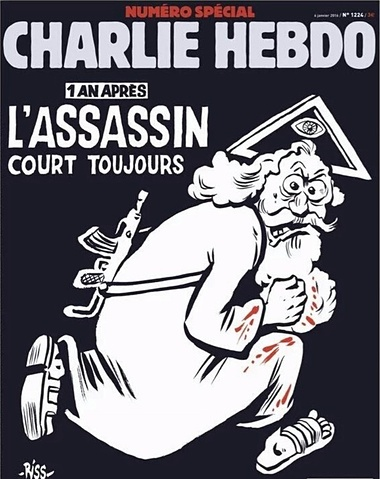 Charlie Hebdo Cover full January 7 2016