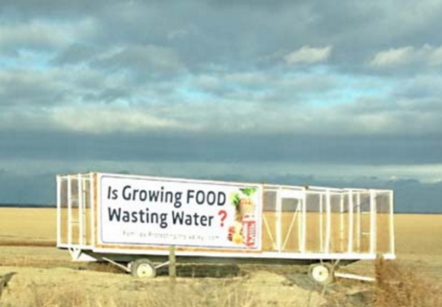 Growing Food Wasting Water