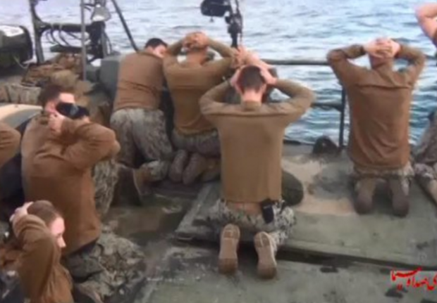 Iran Photo US Navy Sailors Surrendering