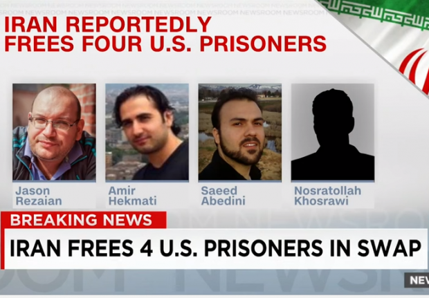 Iran Prisoner Swap Americans Released