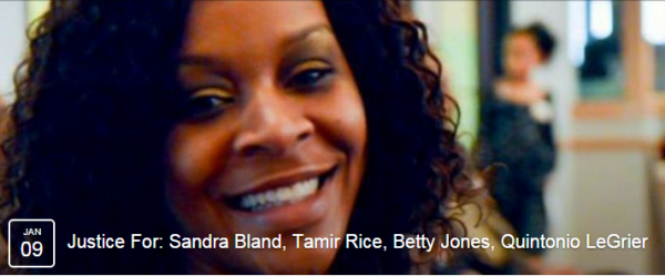 Ithaca Protest Sandra Bland FB Page banner