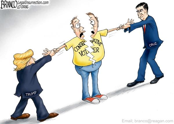 Cruz vs Trump