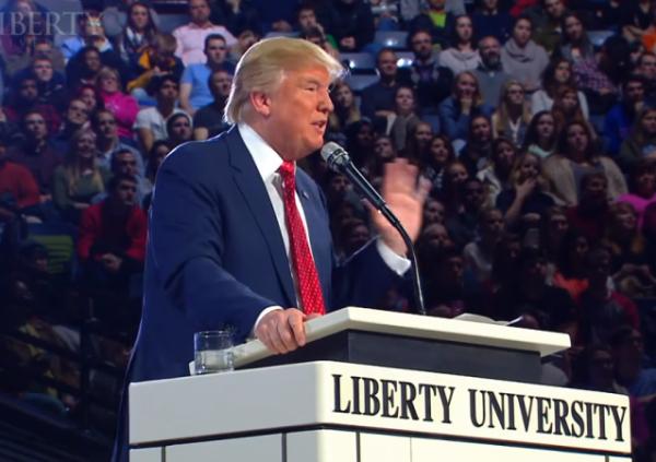 Trump Liberty University