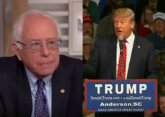 bernie sanders donald trump vermont voters democrat republican election 2016