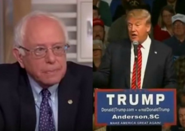 bernie sanders donald trump vermont voters democrat republican election 2016