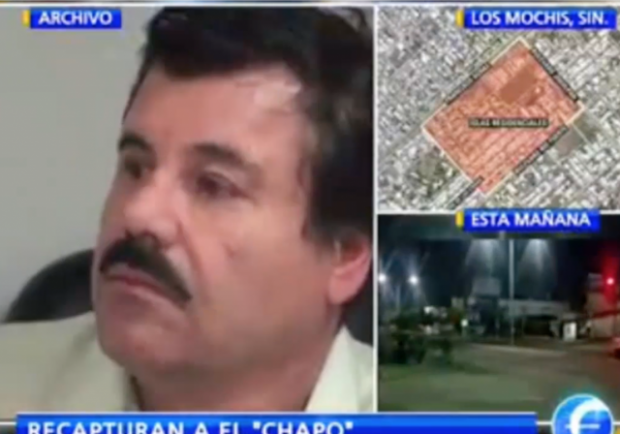 el chapo recaptured mexican drug lord