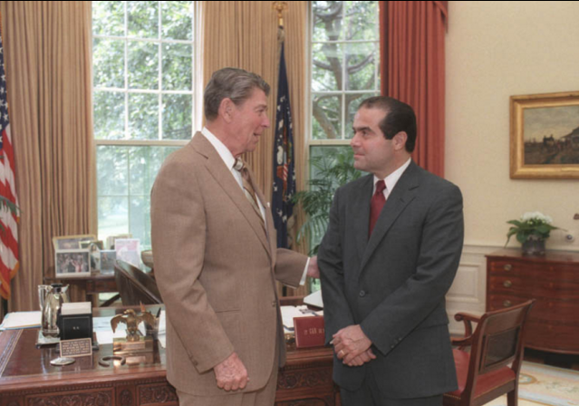 Antonin Scalia Ronald Reagan