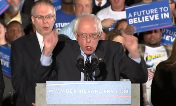 Bernie Sanders NH Victory Speech