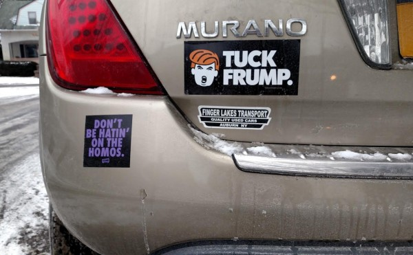 Anti Trump Sticker The Good The Bad The Ugly