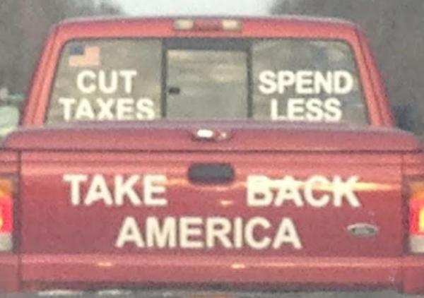 Bumper Stickers - Ithaca - Take Back America