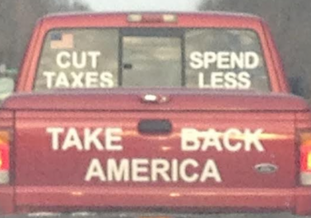 Bumper Stickers - Ithaca - Take Back America