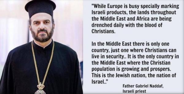 Fr Naddaf on Christians Thriving in Israel