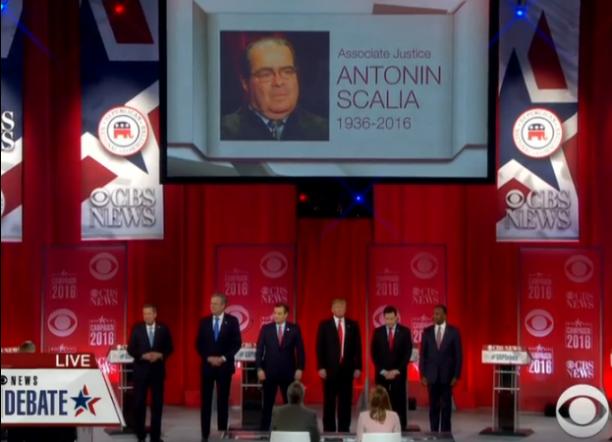 GOP Debate 2-13-2016 Scalia