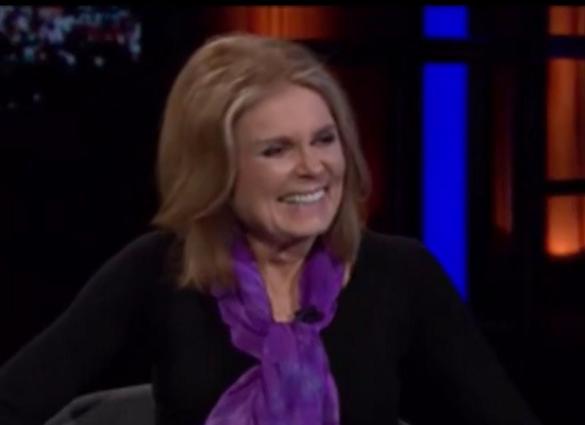 Gloria Steinem on Bill Maher