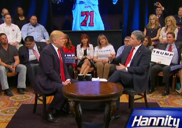 Hannity and Trump 2