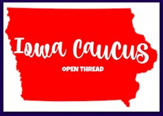 Iowa caucus coverage live open thread how does it work republican democrat