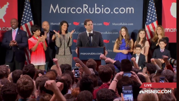 Marco Rubio South Carolina Results Speech