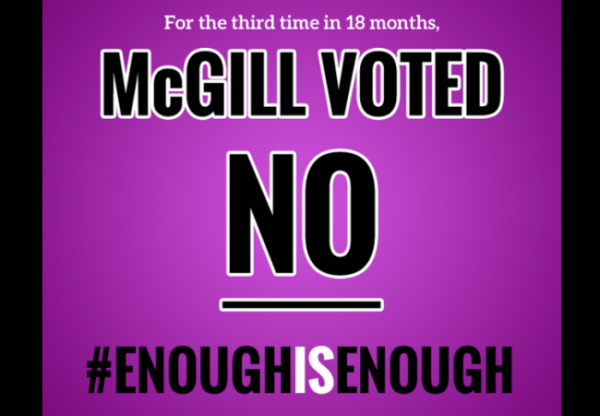 McGill Vote No