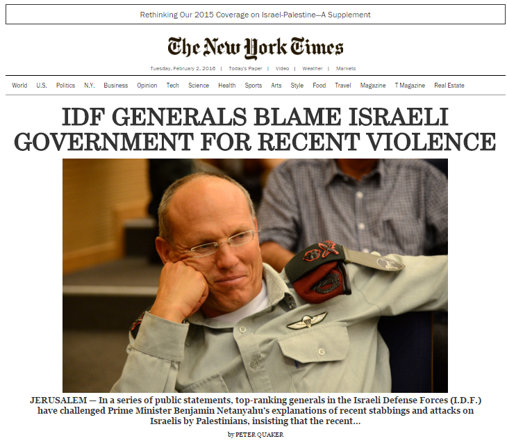 Parody NY Times anti-Israel Israel General Homepage