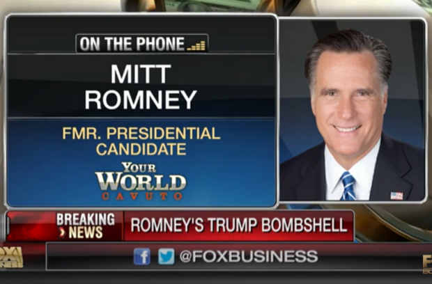 Romney Trump Tax Returns