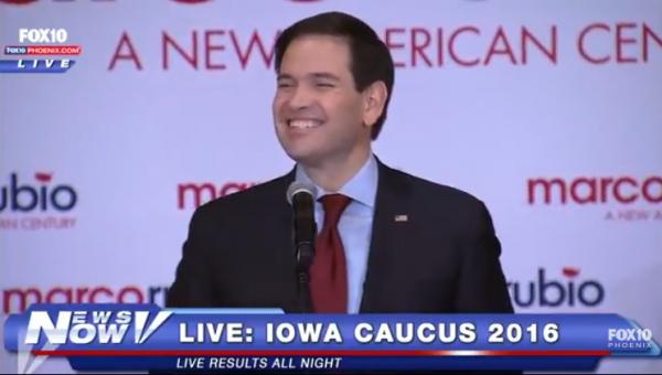 Rubio Iowa Results 2
