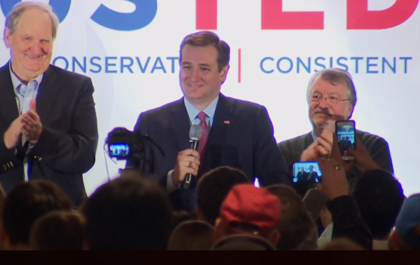 Ted Cruz NH Results Speech