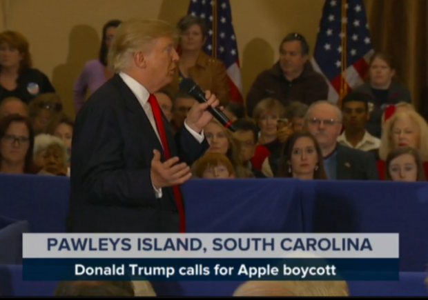 http://www.msnbc.com/msnbc-quick-cuts/watch/donald-trump-calls-for-apple-boycott-626518595618