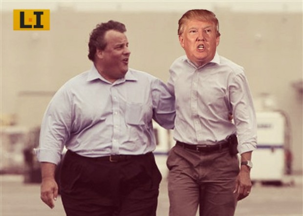 chris christie obama hug donald trump endorsement