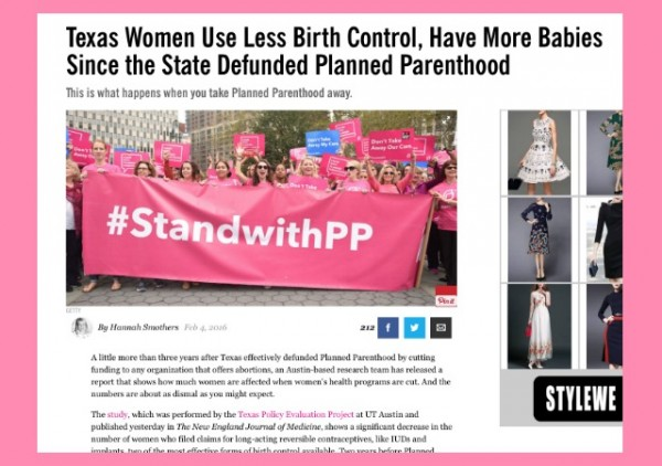 cosmo texas planned parenthood more babies defund planned parenthood