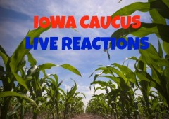 iowa caucus results live reactions live feed democrat republican donald trump ted cruz hillary clinton bernie sanders