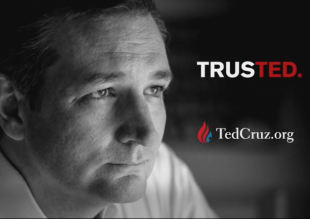 ted cruz attack ad supreme trust donald trump republican 2016 law suit defamation