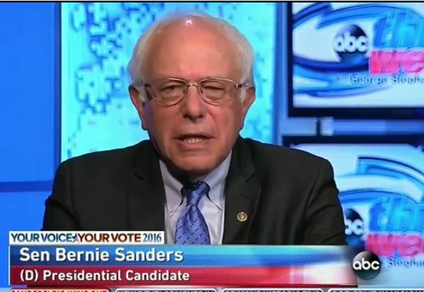 Bernie Sanders on This Week