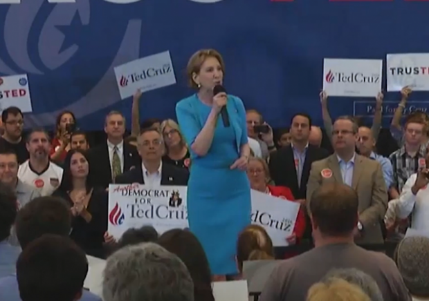Carly Fiorina Endorse Cruz