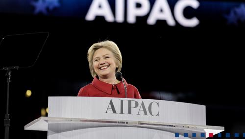 Clinton at AIPAC