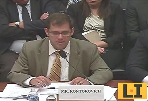 Eugene Kontorovich, House Hearing