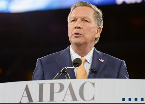 Kasich at AIPAC