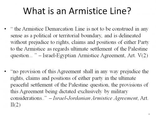 Kontorovich, SU Talk, Armistie Lines Text, revised