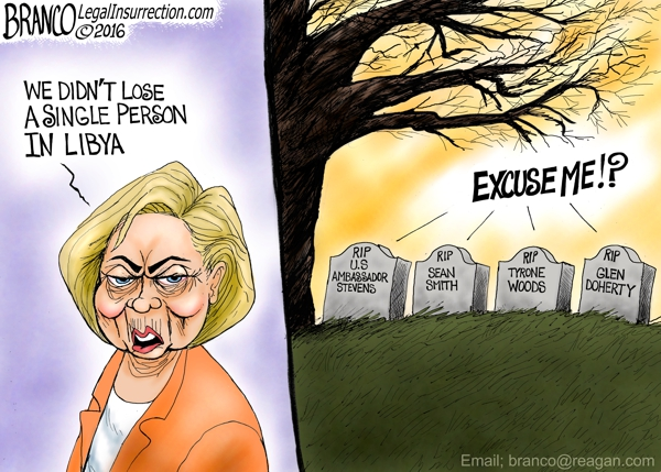 Hillary Libya Losses