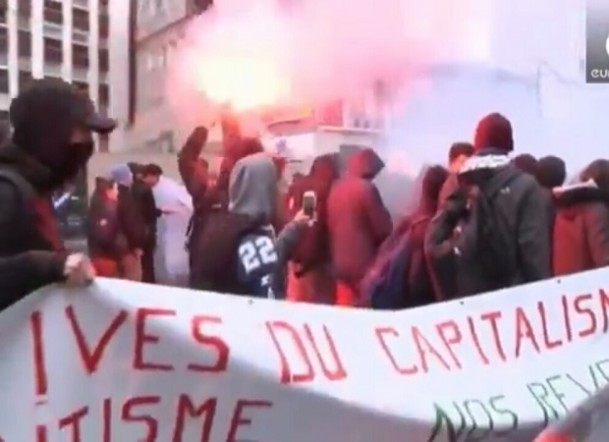 Nationwide protests in France against Labour Reforms