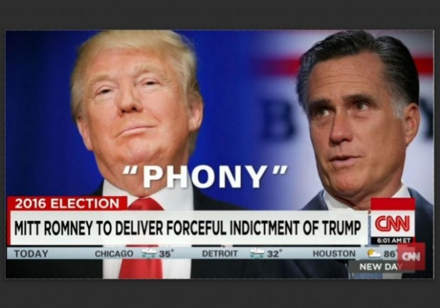 Romney Trump Fraud CNN w border