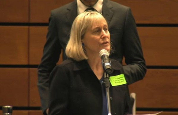 [Tammi Rossman-Benjamin, AMCHA Initiative, at UC Regents Meeting]