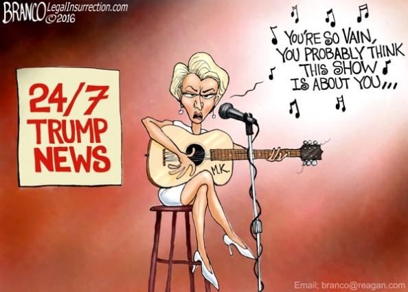 Megan Kelly and Donald Trump