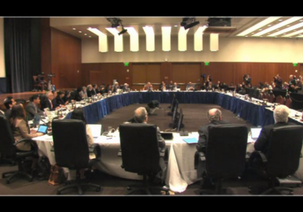 UC Regents Meeting Anti-Zionism 3-23-2016