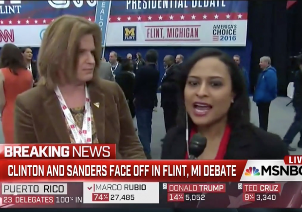 msnbc reporter hot mic telling clinton campaign questions before interview media bias hillary clinton jenn palmieri