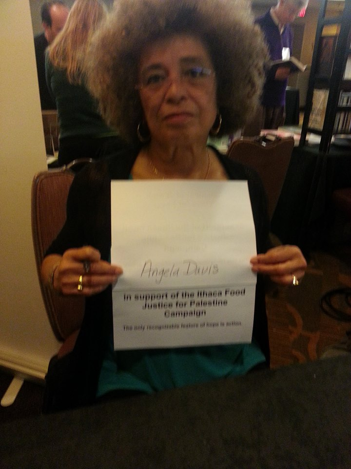 Angela Davis GreenStar Sign