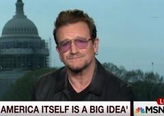 Bono praises Bush