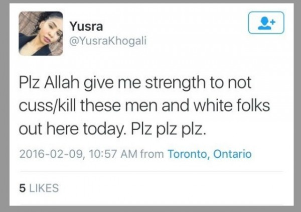 Canadian Black Lives Matter Organizer Tweets About Killing Men and White Folks