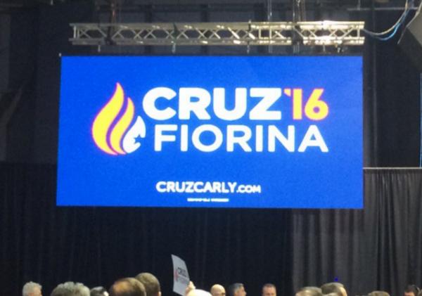Cruz Fiorina Banner